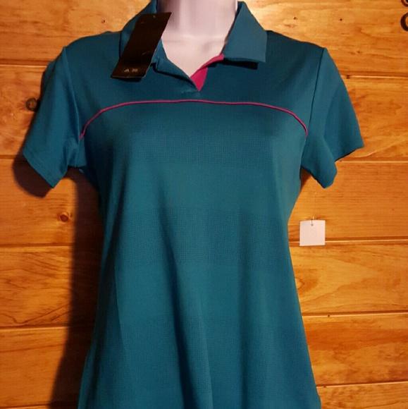 Adidas al massimo nwt golf camicia dimensioni piccole poshmark