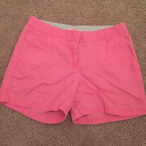 J. Crew Pants - HOT PINK JCREW SHORTS