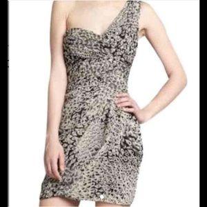 Max & Cleo Chiffon Mini Dress