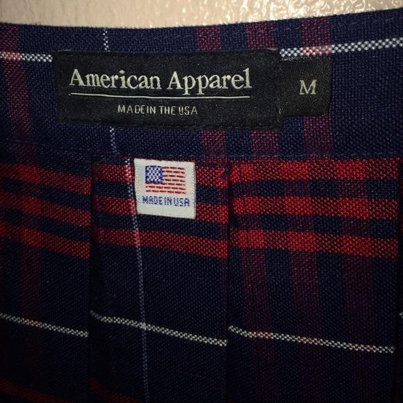 American Apparel Skirts - American Apparel plaid tennis skirt