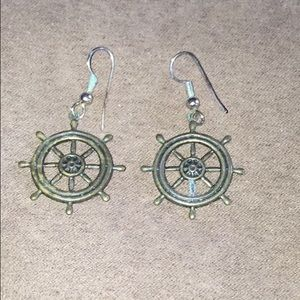vintage captain wheel sailing Jewelry 3/$10 6/$15