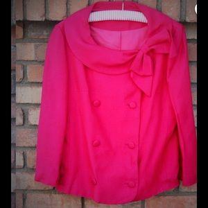 Vintage pink blazer