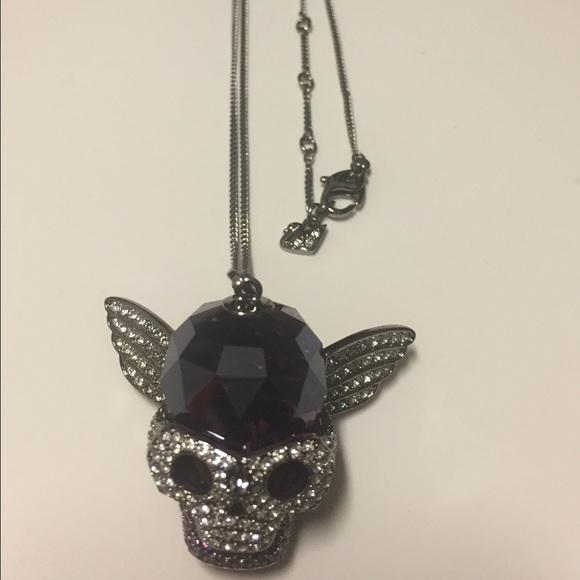 75 off swarovski jewelry swarovski passenger skull necklace swarovski passenger skull necklace mozeypictures Images