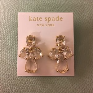 Kate Spade Drop Earrings - Clear
