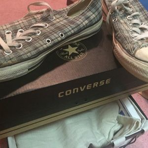Plaid Chuck Taylor All Star Converse