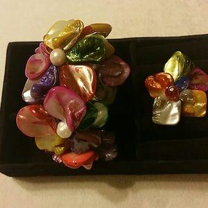 Jewelry - FASHION JEWELRY BRACELET AND RING SET