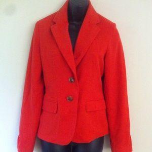 Merona orange blazer, sz 4