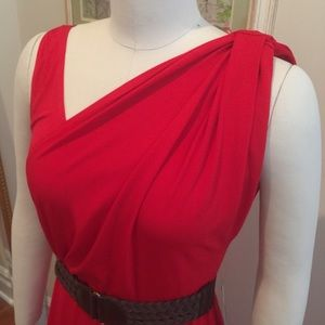 London Times Dresses & Skirts - NWT Perfect red dress with options! Size 12