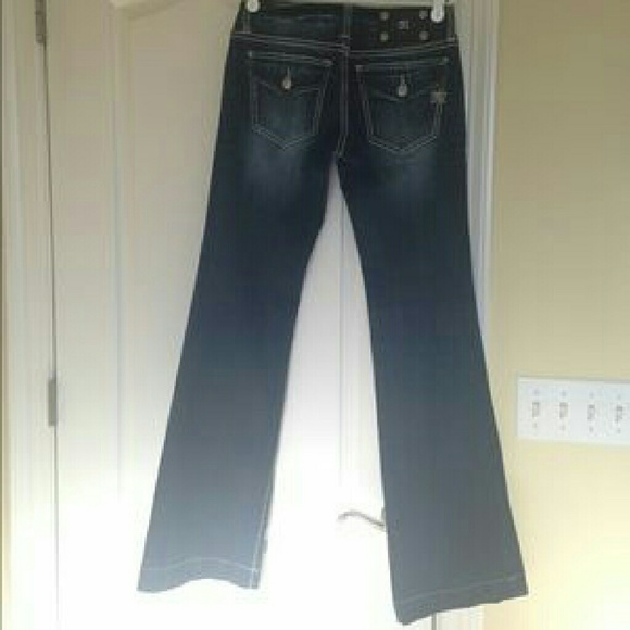 75% off Miss Me Denim - Miss Me Wide Leg Jeans Size 26 from ...