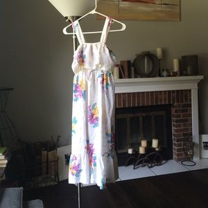 Vintage floral señorita summer dress