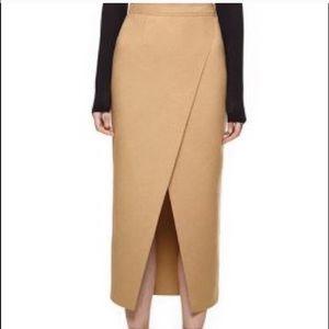 Dresses & Skirts - ❌SOLD❌Asymmetric a camel skirt