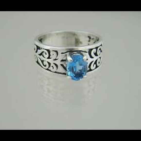 James Avery Blue Ring