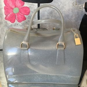 Bags - Grey Jelly Bag NWT