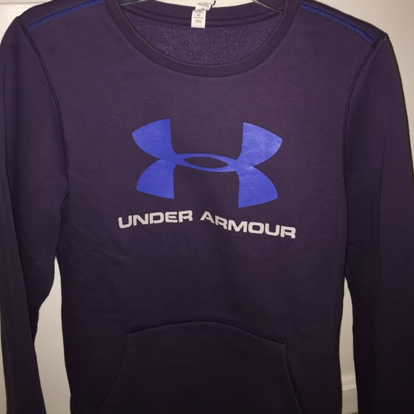 64% off Under Armour Sweaters - UA crewneck sweatshirt with front ...