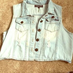 C'ESTTOI Tops - Like New Jean Jacket