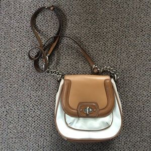 Structured Leather Crossbody Purse