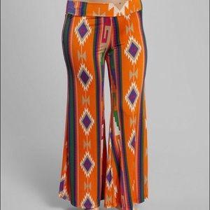 Boutique Pants - Plus Size Aztec Palazzo Pants