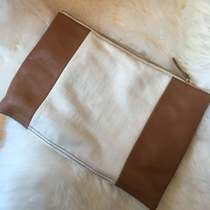 GAP Bags - GAP colorblock clutch