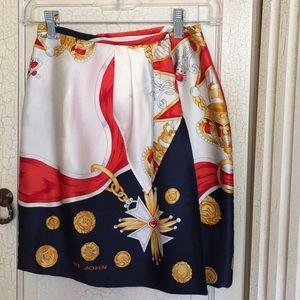 St. John Dresses & Skirts - St John wrap skirt