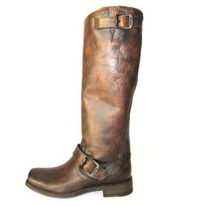 Frye 77293 Womens Smith Engineer Tall Boots 8.5