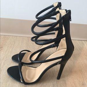 0a864e8fc92cc1 Public Desire Shoes - Public Desire Nikki Strappy Heel