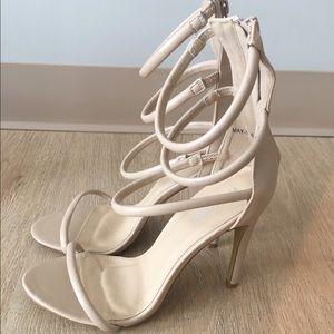 78d2593ace106a Public Desire Shoes - Public Desire Nikki Strappy Heels