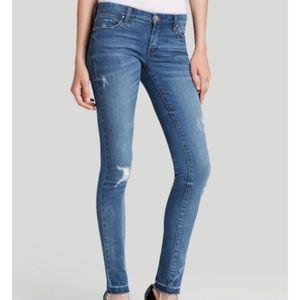 Blank NYC distressed skinny jean