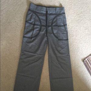 Men's Runway Givenchy Wide Leg Pants Size 50 (EUR)