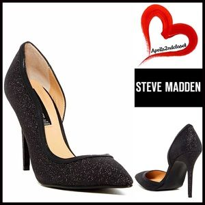 Steve Madden Shoes - STEVE MADDEN GLITTER High Heels