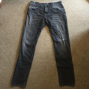 Dolce & Gabbana Steel Grey Denim Jeans