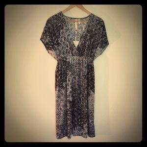 Christina Love Dresses & Skirts - Christina NWT  Love Black White Printed Dress XL
