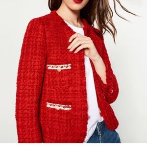 Zara Woman's Tweed Jacket