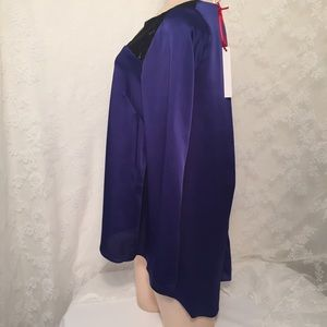 LLove Tops - Lavender stylish longsleeves blouseFINAL CLEARANCE