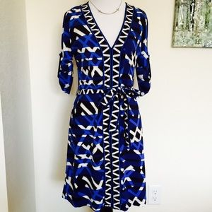 BCBGMAXAZRIA A-line Dress quarter sleeves