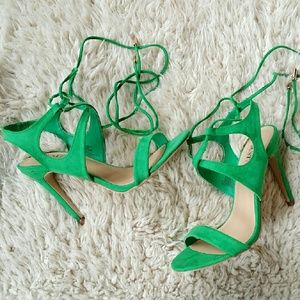 🚫SOLD🚫Gorgeous Green Sandals