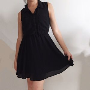 H&M Black Work Dress