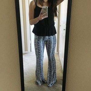 Citrus and Lavender Lane Pants - The Bohemian Flare Pant
