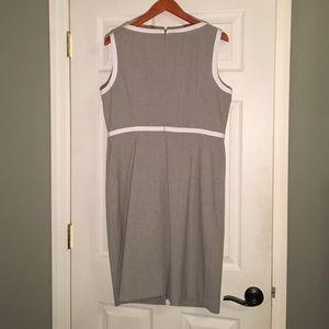 Calvin Klein Dresses - Calvin Klein Grey & White Dress