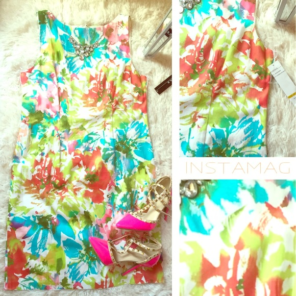 Dresses & Skirts - Colorful Dress NWT💐