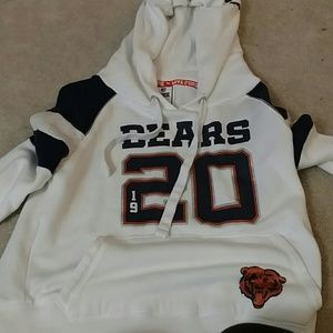 PINK  chicago bears sweatshirt, with hood