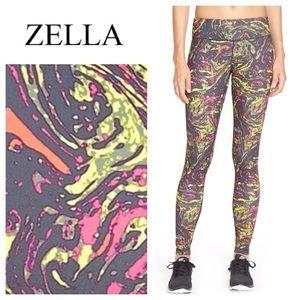 Zella Pants - NEW!  Zella live-in grey-graphite marble leggings