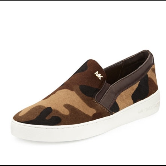 2fed6b28067f Michael Kors Keaton Slip On Woven Sneakers Great pair t