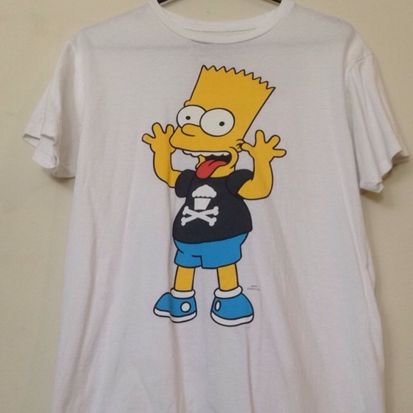 6f4599c1 Tops | Johnny Cupcakes Bart Simpson Shirt | Poshmark