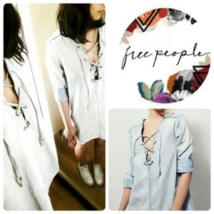 FREE PEOPLE LACE UP