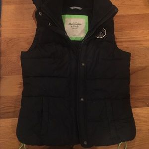 Abercrombie and Fitch navy vest