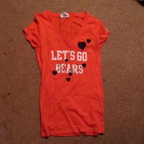 Chicago Bears Victoria s Secret PINK V Neck. M 5733e16f713fde014d008980 9760307b4