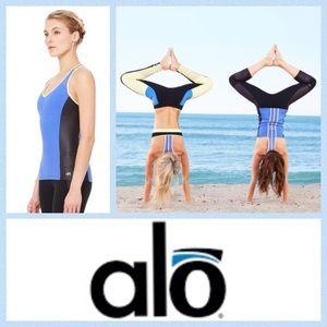 ALO Yoga Tops - NEW!  ALO Yoga 'Chromatic long bra' workout tank