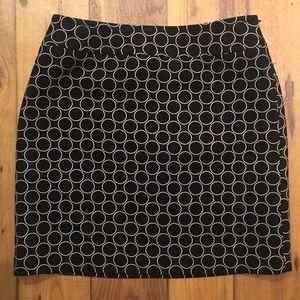 LOFT Dresses & Skirts - LOFT black wool mini skirt size 6 petite