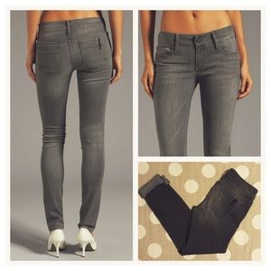 Black Orchid Denim - Black Orchid gray skinny jeans