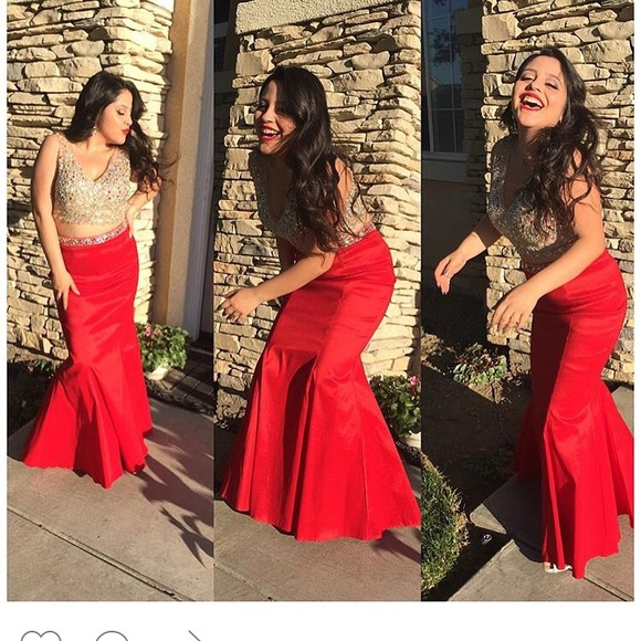 3a8726bd672a Dancing Queen Dresses | Red Formal Dress Its A 2pc | Poshmark